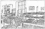 Magasin de tissus à Graulhet