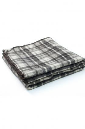 plaid pure laine ecossais finition cheval 1