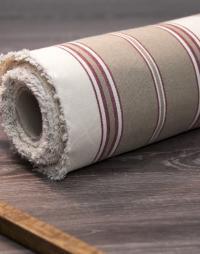 toile-coton-raye-tabac