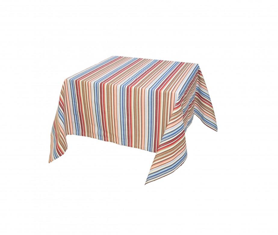 nappe couleur multi rayure fabriqu en france 100 naturel. Black Bedroom Furniture Sets. Home Design Ideas
