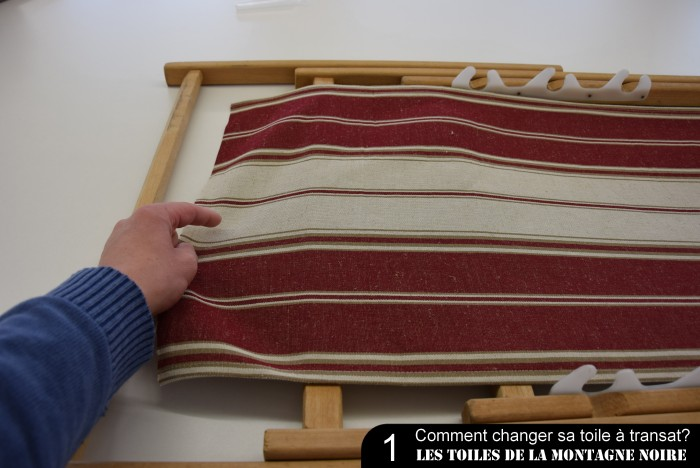 Comment Changer Une Toile Transat 100 Made In France