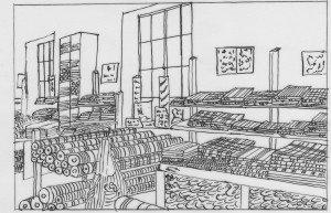 intérieur magasin Graulhet