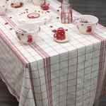 nappe carreaux rouge