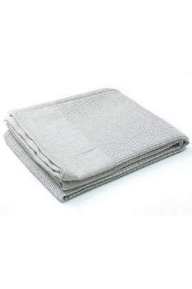 plaid coton laine beige 1