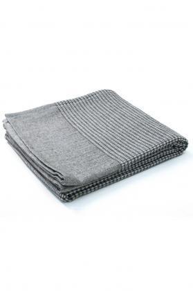 plaid coton laine burel 1