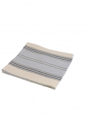serviette de table gris