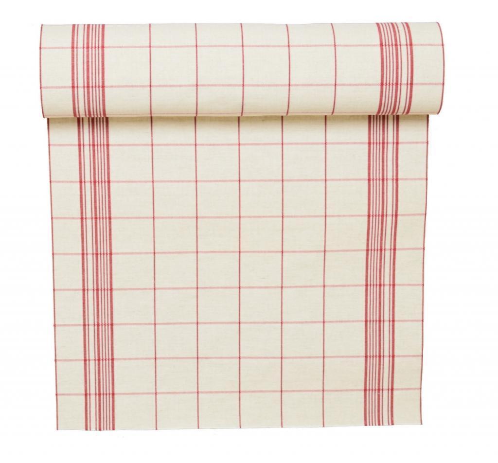 Toile torchon rondelette coton carreaux rouge 100 naturel - Toile de coton synonyme ...
