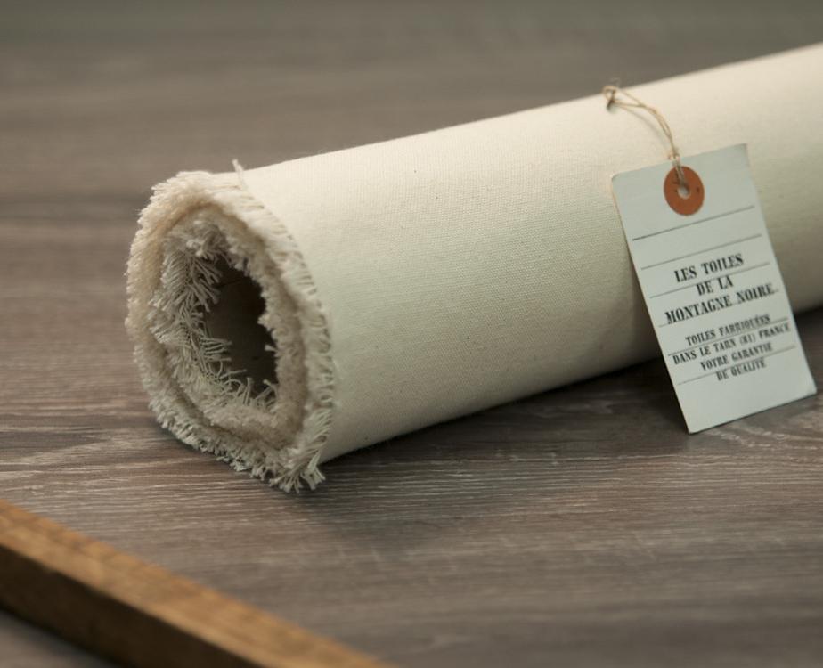 toile au m tre coton unie fabriqu en france 100 naturel. Black Bedroom Furniture Sets. Home Design Ideas