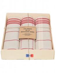 coffret-3-torchons-classique-rouge