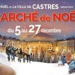 Marché Nöel de Castres 2015