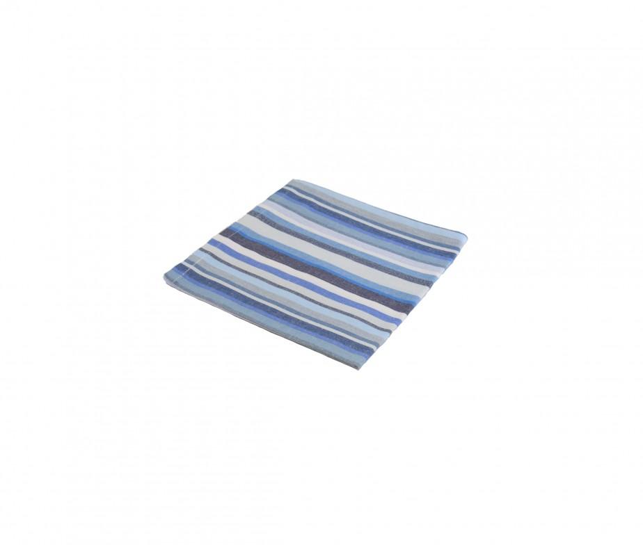 Serviette de table bleu fabriqu en france - Serviette de table bleu roi ...