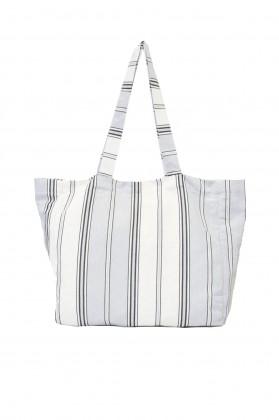 sac de plage toile gris