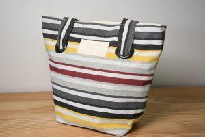 sac toile couleur