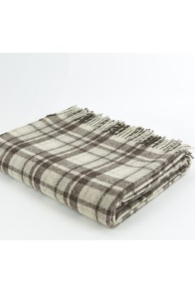 zoom plaid pure laine ecossais