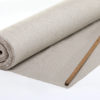 coupon tissu jacquard médaillon taupe