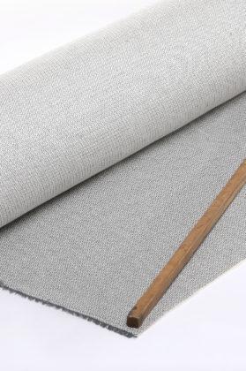 tissu jacquard médaillon gris