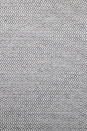 zoom coupon tissu jacquard medaillon gris