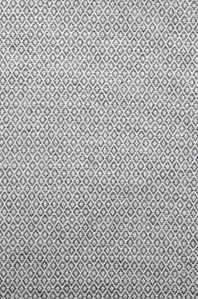 zoom coupon tissu jacquard medaillon gris