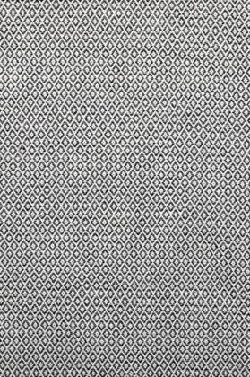 zoom coupon tissu jacquard médaillon noir