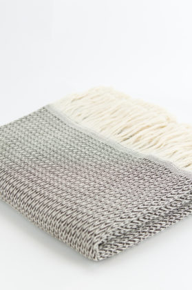 plaid laine et coton