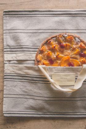 sac à tarte toile gris