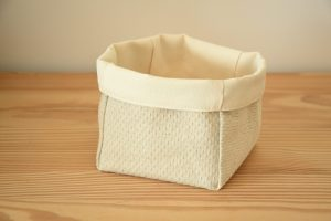 panière tissu en coton