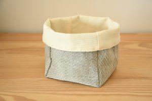 panière tissu moderne
