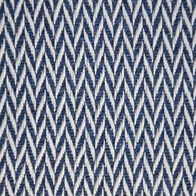 lien plaid chevron bleu nuit